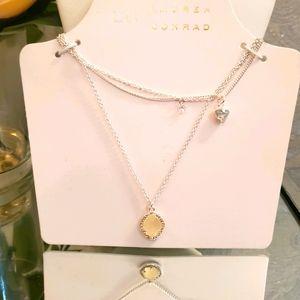 Lauren Conrad 3 layer Necklace